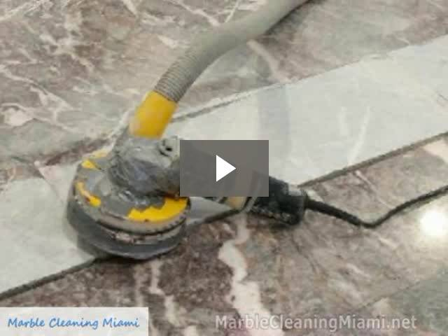 Marble Floor Restoration Miami
