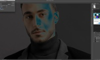 Thumbnail for Retouching / Commercial Portrait-Frequency Separation