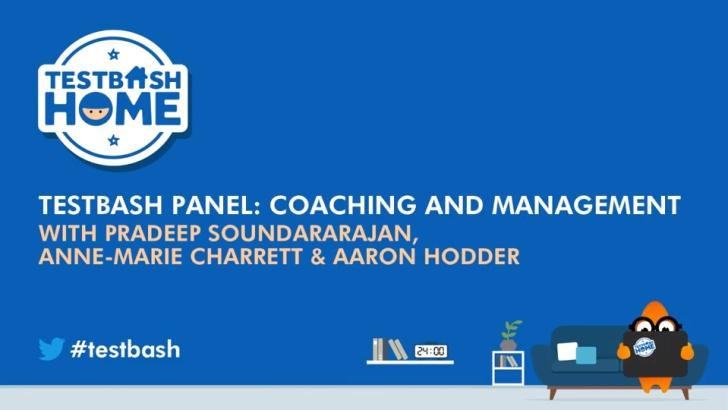 TestBash Panel: Coaching