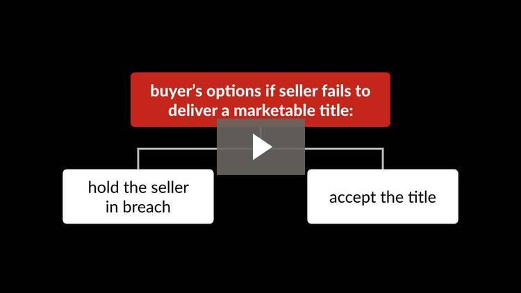 Seller Guarantees and Disclosures