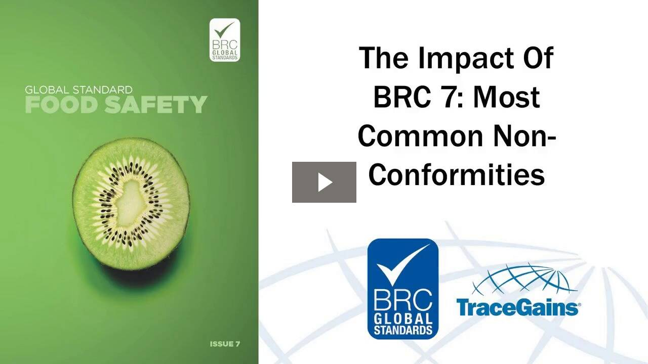The Impact of BRC 7: Most Common Non-Conformities