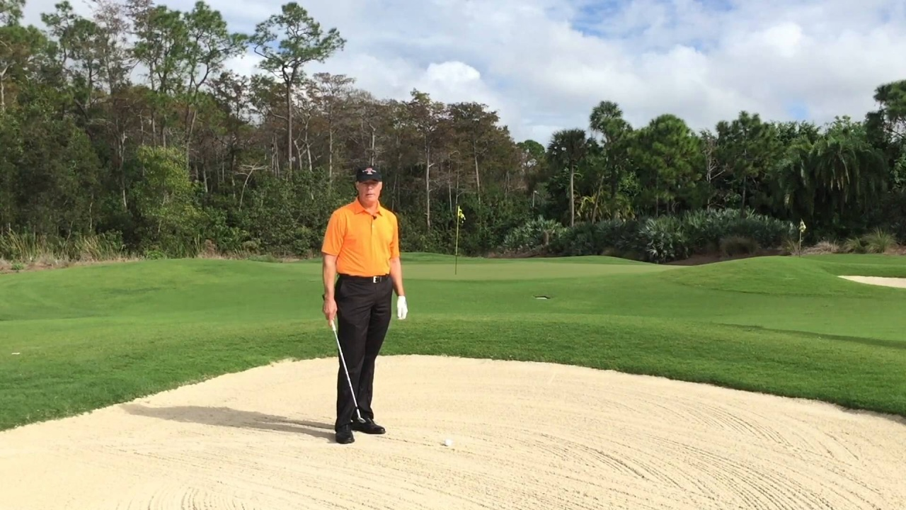 Hit Longer Bunker Shots with this Simple Technique