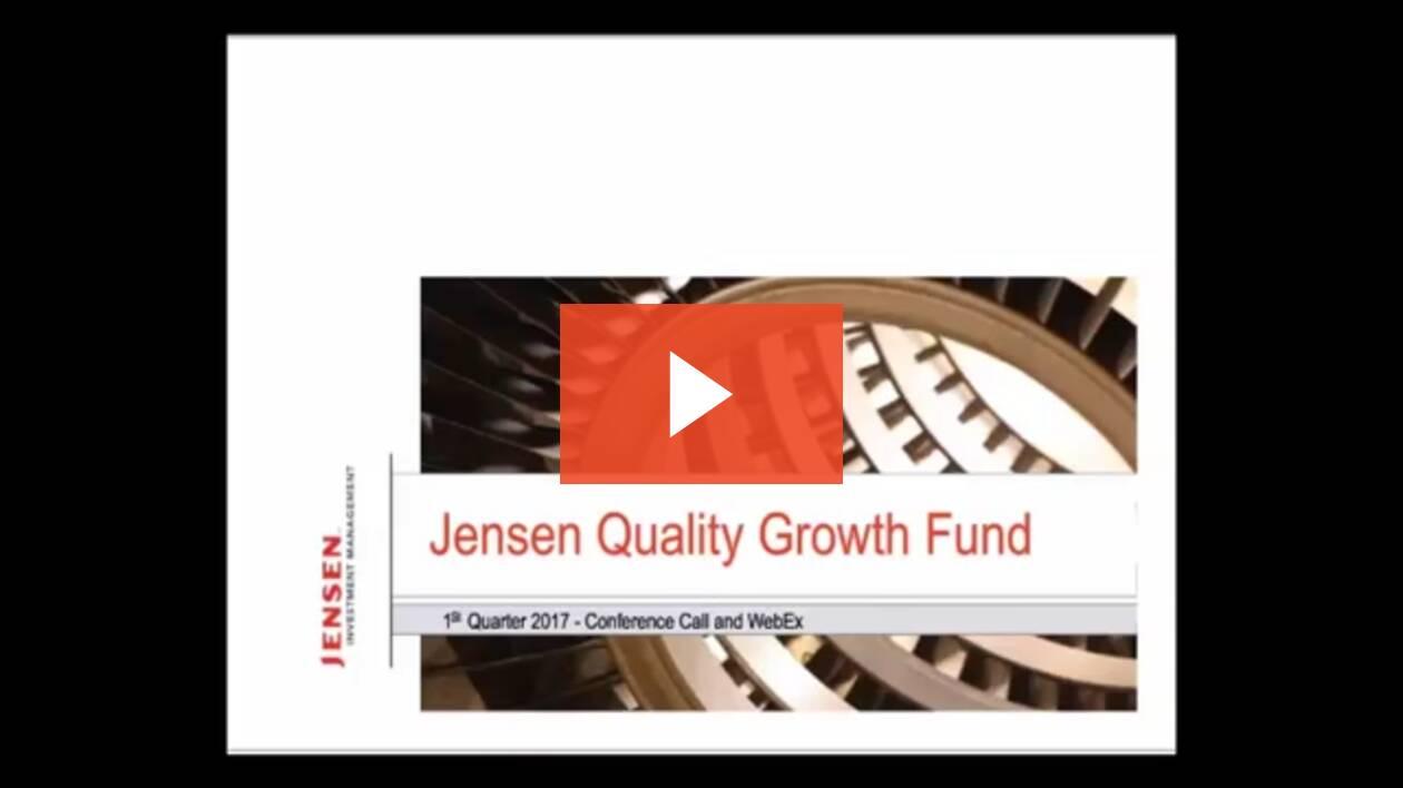 1Q 2017 JQGF Quarterly Update