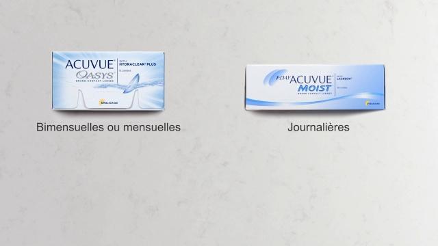 7158064e420ba0 Lentilles de contact journalières en ligne   Vision Direct