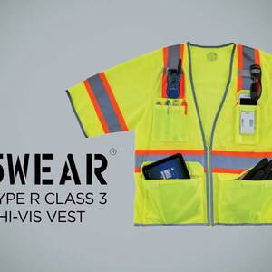 Ergodyne Product Video - GloWear<sup>®</sup> 8346Z Two-Tone Hi-Vis Class 3 Surveyor Vest