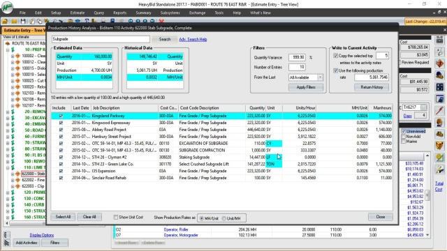 construction estimating software hcss heavybid
