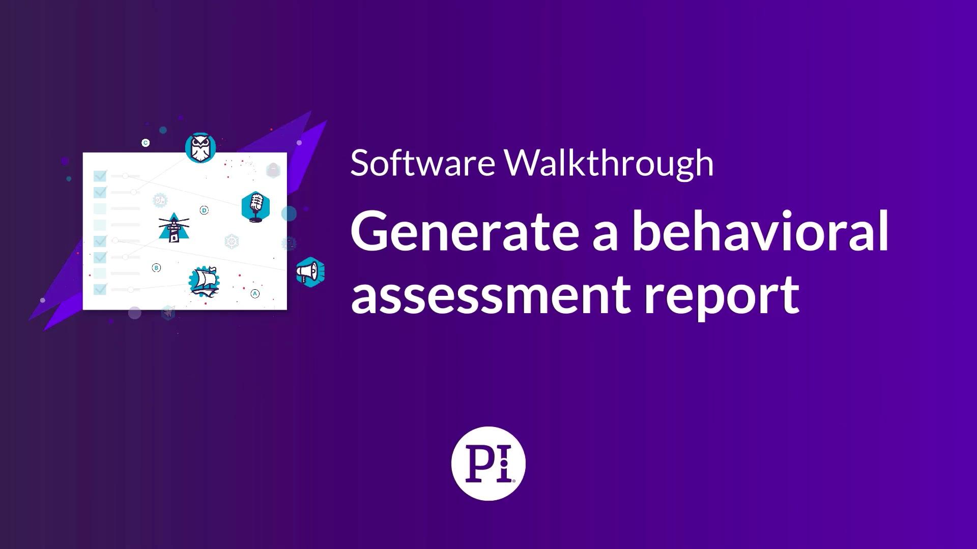 Generate and Send a BA Report
