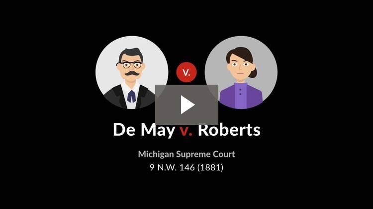 De May v. Roberts