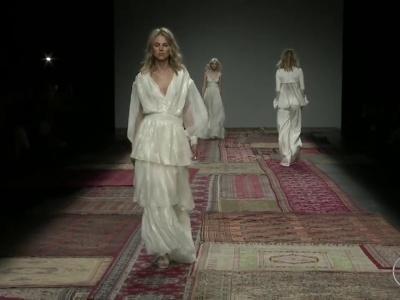Desfile Houghton 2016: vestidos de novias boho chic