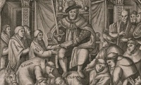Was Henry VIII's lack of a male heir the main reason for reforms to the English church in the years 1529-40?