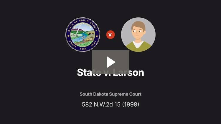 State v. Larson