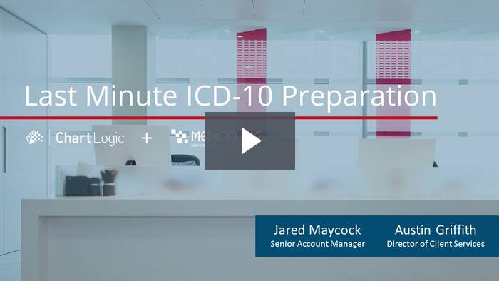 Webinar: Last Minute ICD-10 Preparation (September 30, 2015)