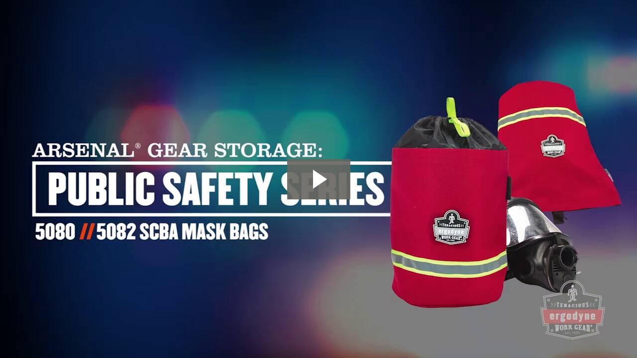 Ergodyne Product Video - Arsenal<sup>®</sup> 5080L SCBA Mask Bag - Fleece Lined