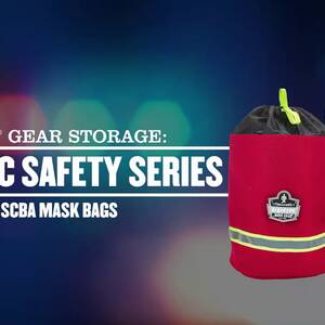 Ergodyne Product Video - Arsenal<sup>®</sup> 5080L SCBA Mask Bag - Fleece Lined
