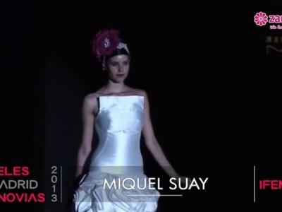 Pasarela de novias Miquel Suay 2013