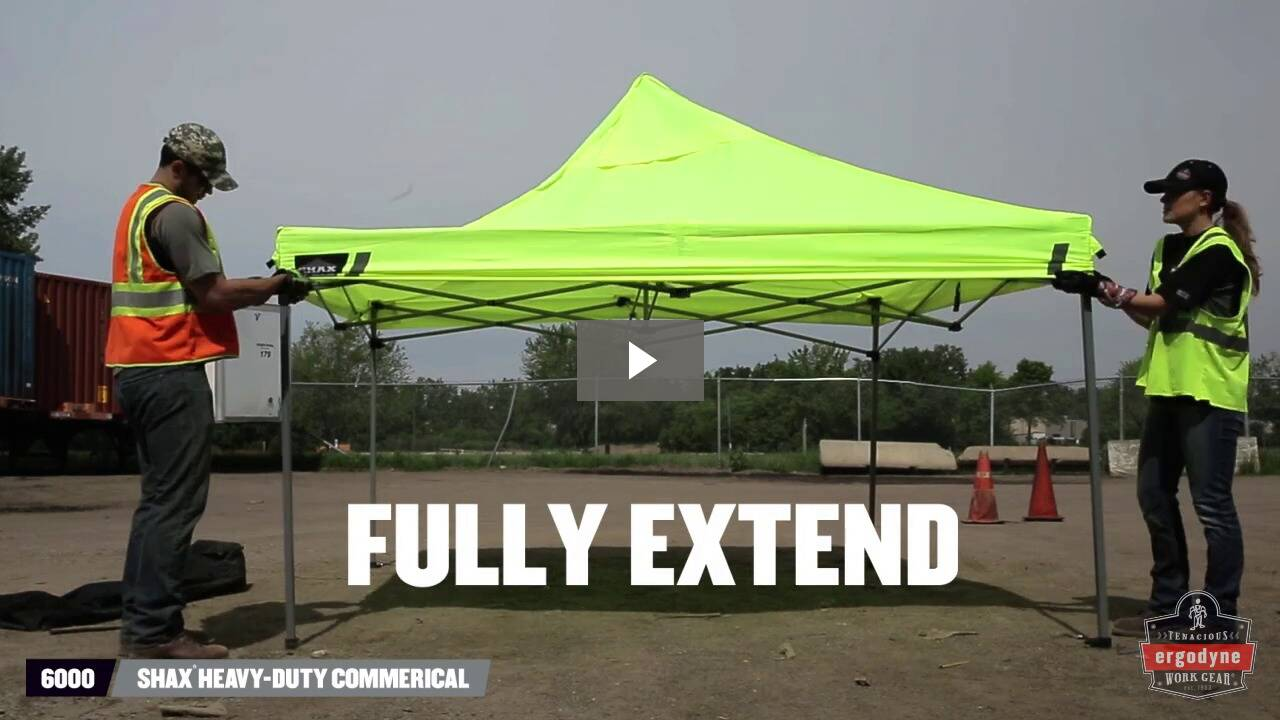 Ergodyne Product Video - SHAX<sup>®</sup> 6000B Replacement Pop-Up Tent Storage Bag