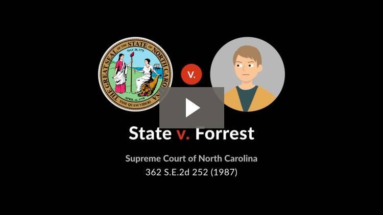 State v. Forrest