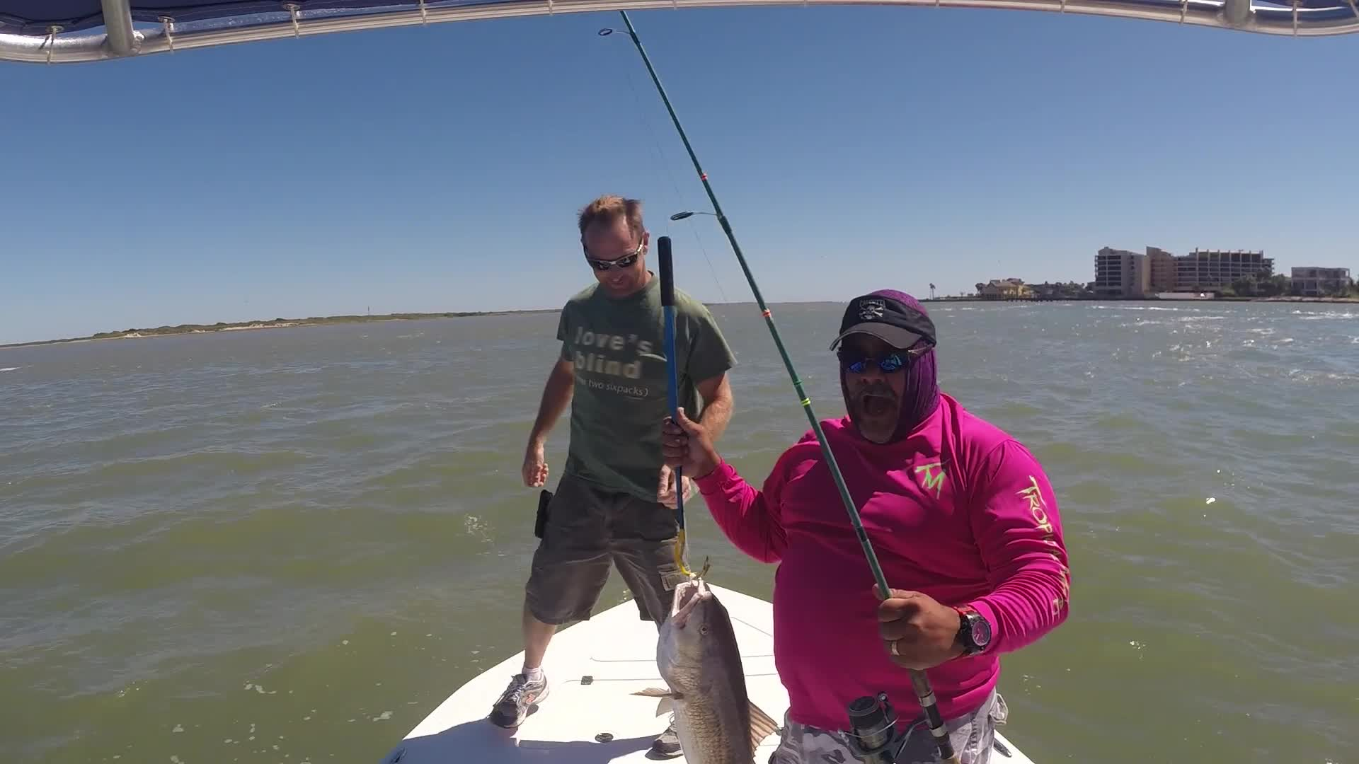 Pebsworth the trip fishing guide rockport tx fishingbooker for Fishing guides rockport tx