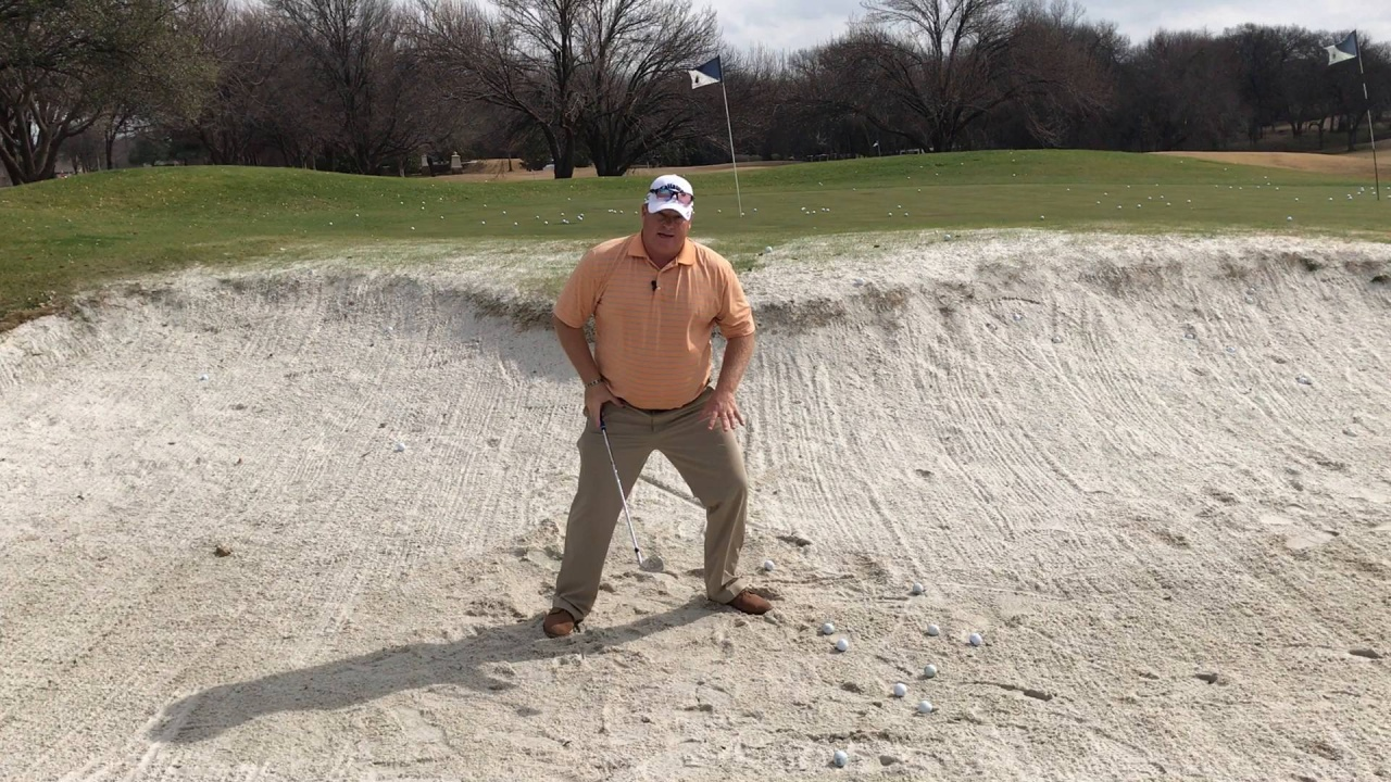 Simple Steps to Executing the Golf Bunker Shot