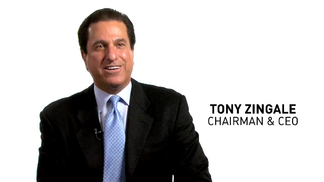 Tony Zingale, Jive CEO