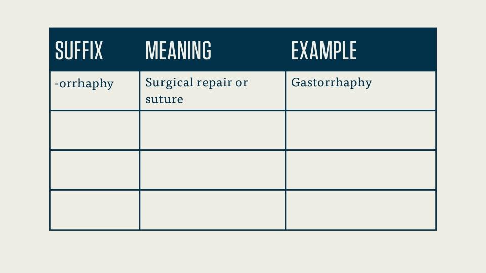 CPC Exam: Medical Terminology