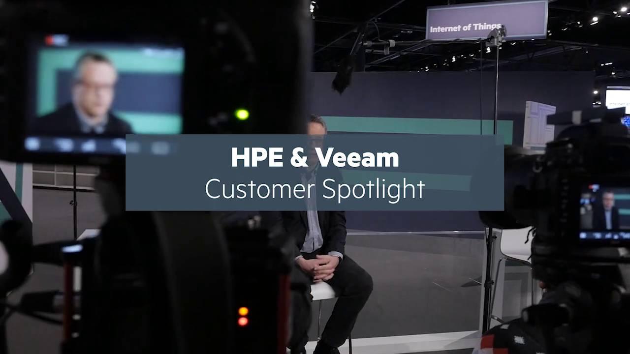 HPE & Veeam - Customer Spotlight