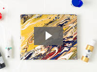 Video for Color Pour Painting Starter Kit