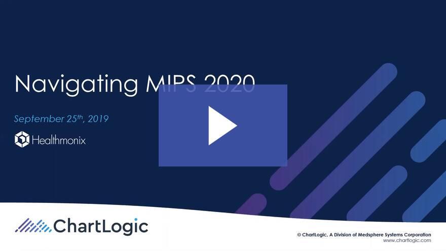 Webinar | Navigating MIPS 2020