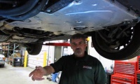 Oil Filter Service Range Rover Sport And LR4 video screen shot