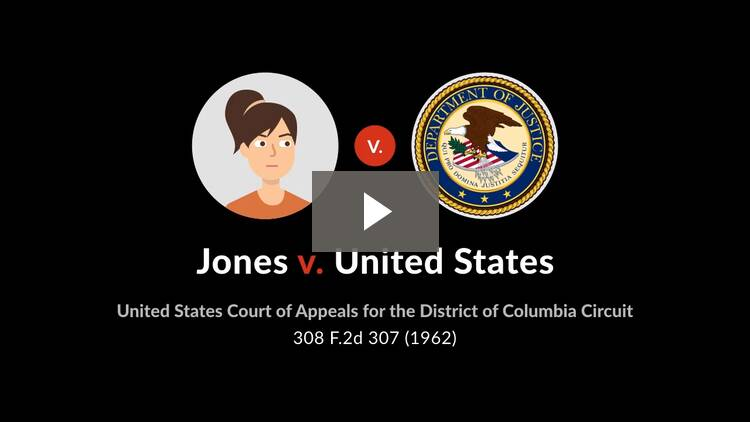 Jones v. United States
