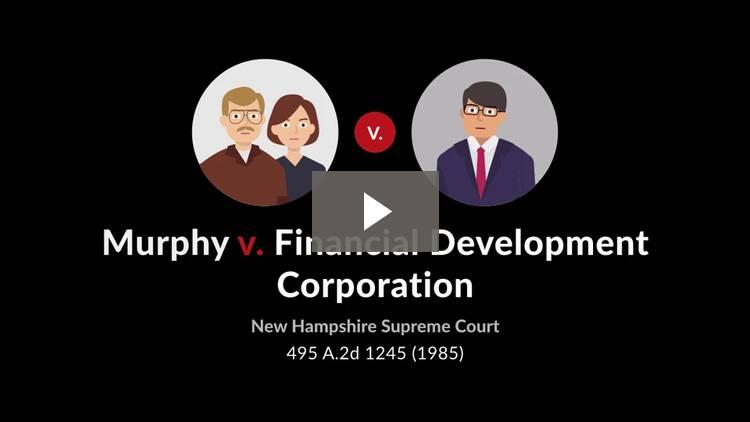 Murphy v. Financial Development Corp.