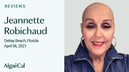 Testimonial thumbnail portrait of Jeannette Robichaud