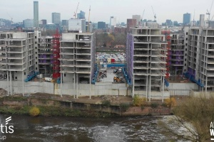 Adelphi Wharf Phase 3 - Drone Footage - December 2018