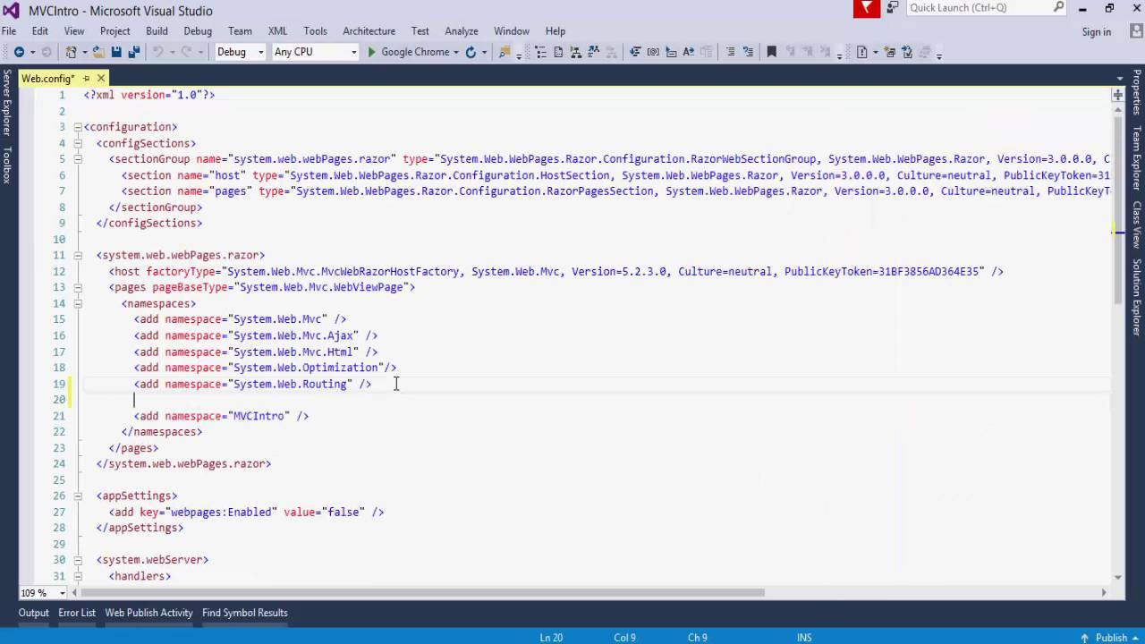ComponentOne Unplugged- Getting Started with MVC 5 and Visual Studio ...