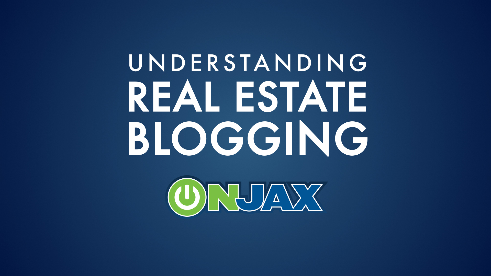 How To Video - Understanding Real Estate Blogging