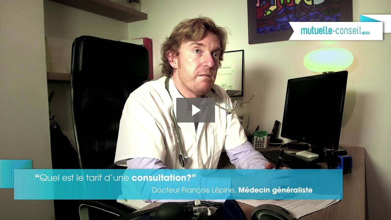 Quel est le tarif d'une consultation chez un généraliste ?
