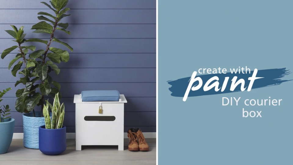 Habitat TV Video: DIY courier box