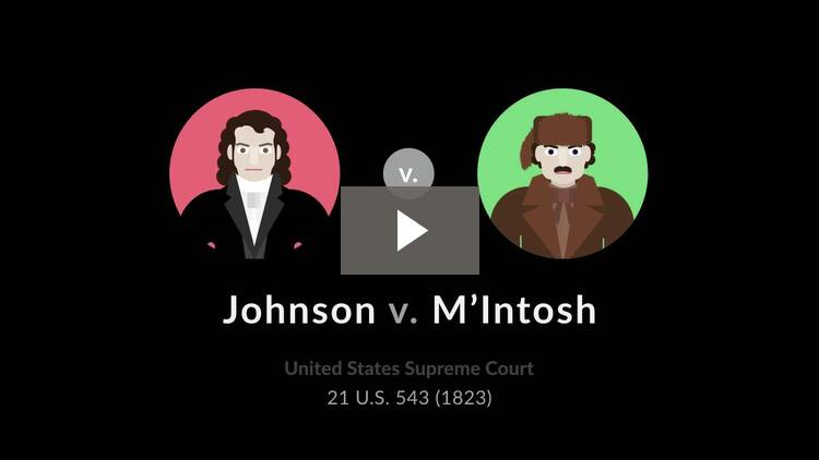 Johnson v. M'Intosh