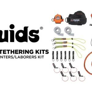 Ergodyne Product Video - Squids<sup>®</sup> 3183 Carpenter & Laborer's Tool Tethering Kit