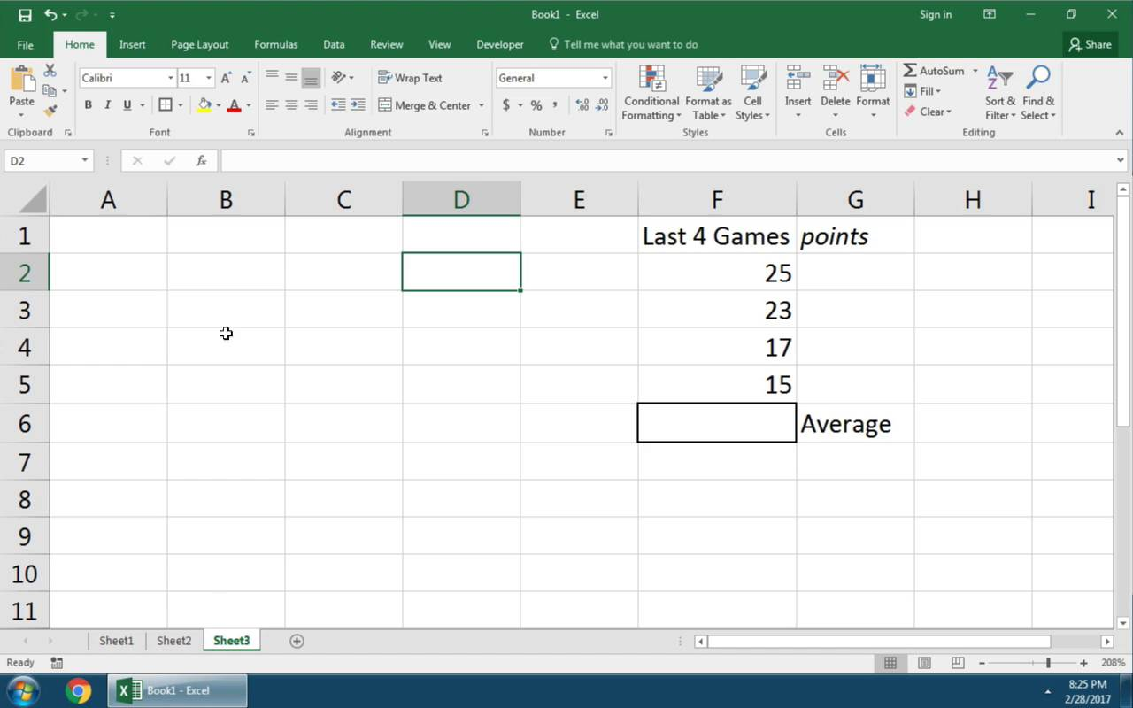 Quick Start How to Make a Basic Formula in Excel