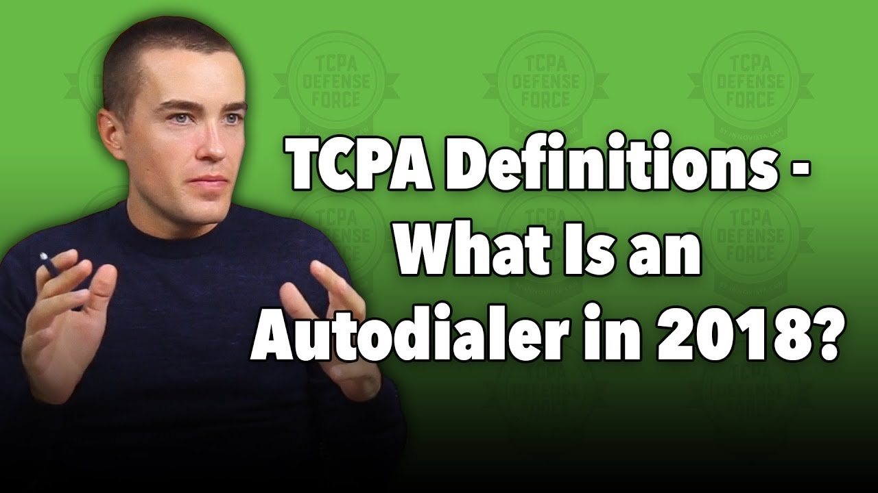 TCPA Definitions – What Is an SMS Autodialer?