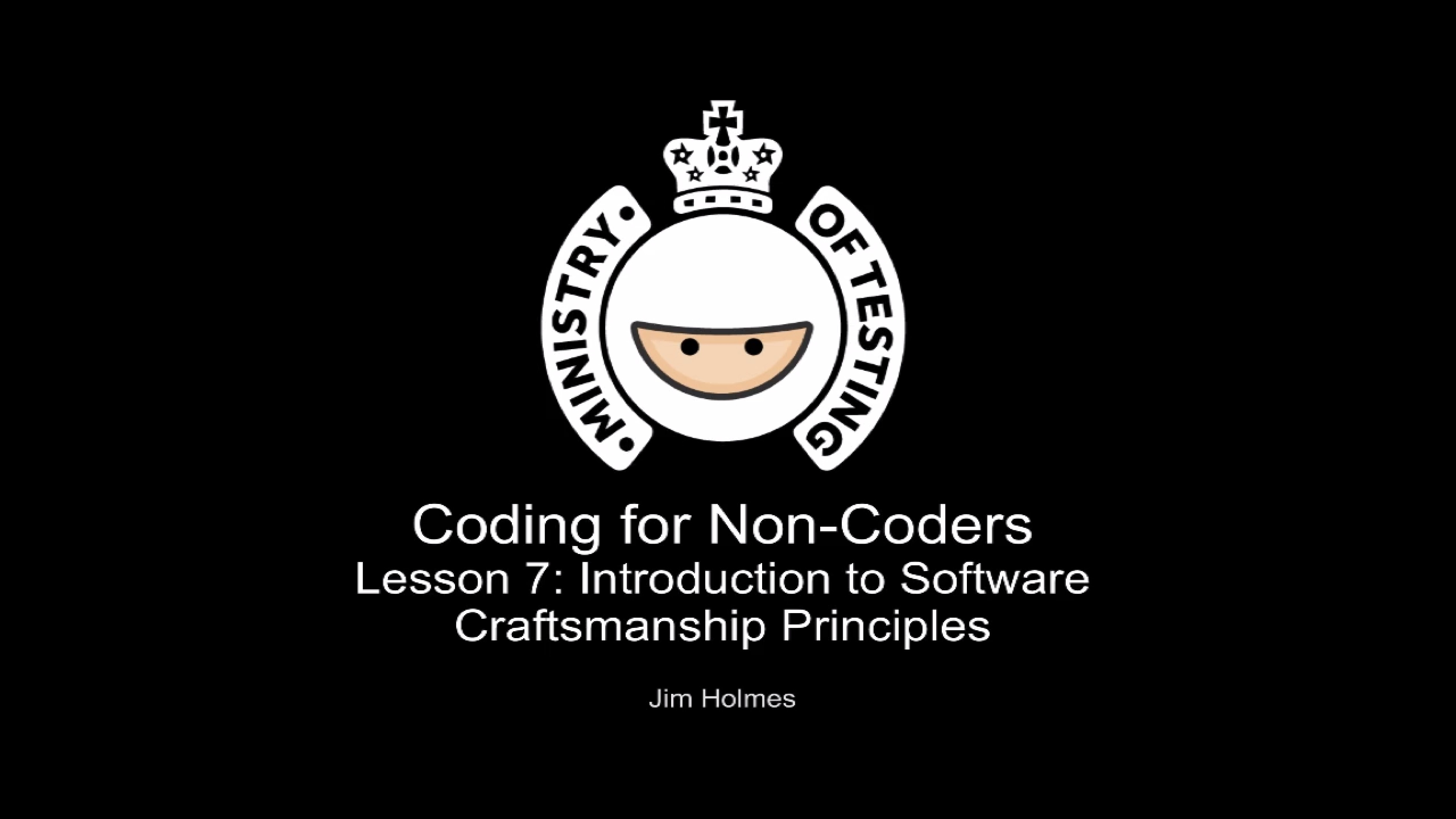 Introduction to Software Craftsmanship Principles