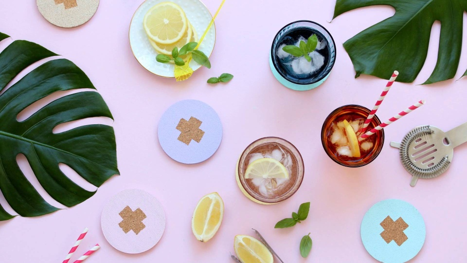 Habitat TV Video: Fun cocktail coasters