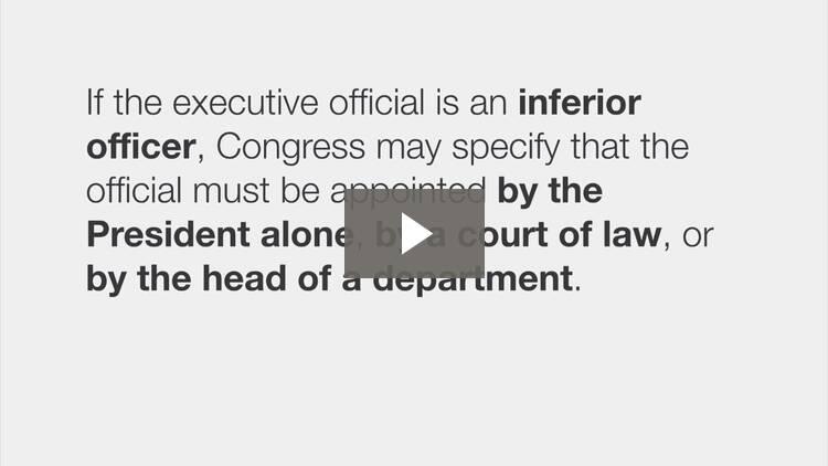 Executive Controls