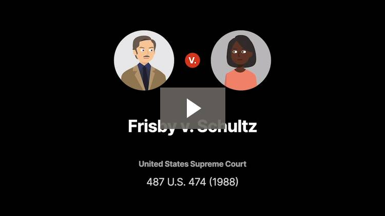 Frisby v. Schultz