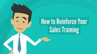 How to Reinforce Your Sales Training