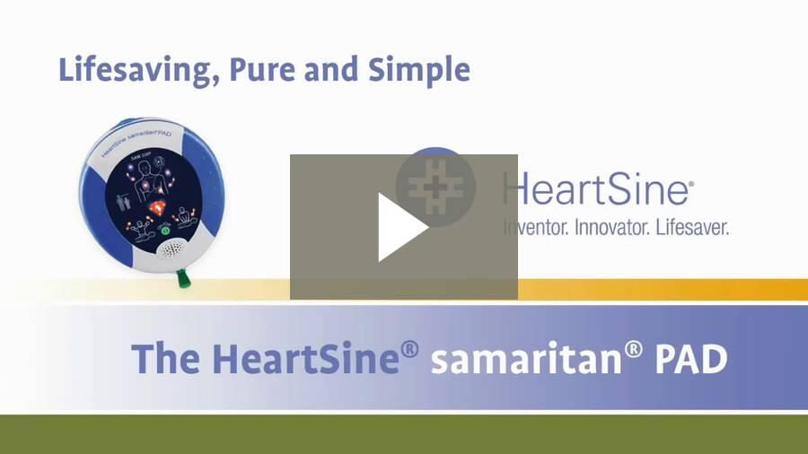 HeartSine PAD350P - Overview