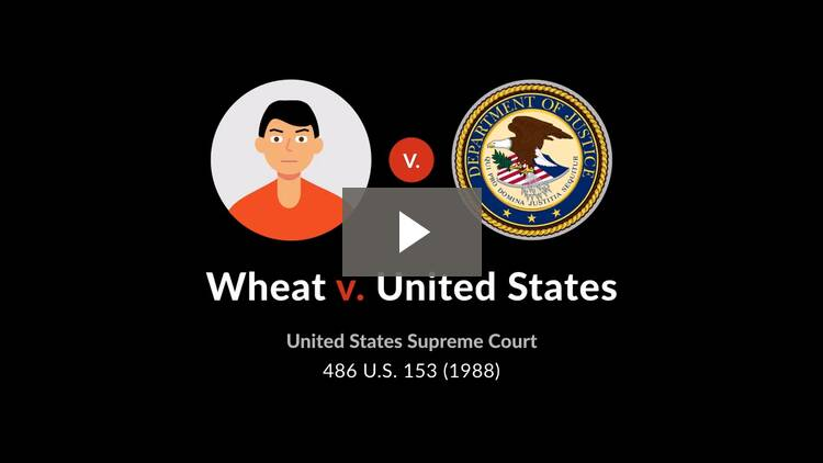 Wheat v. United States