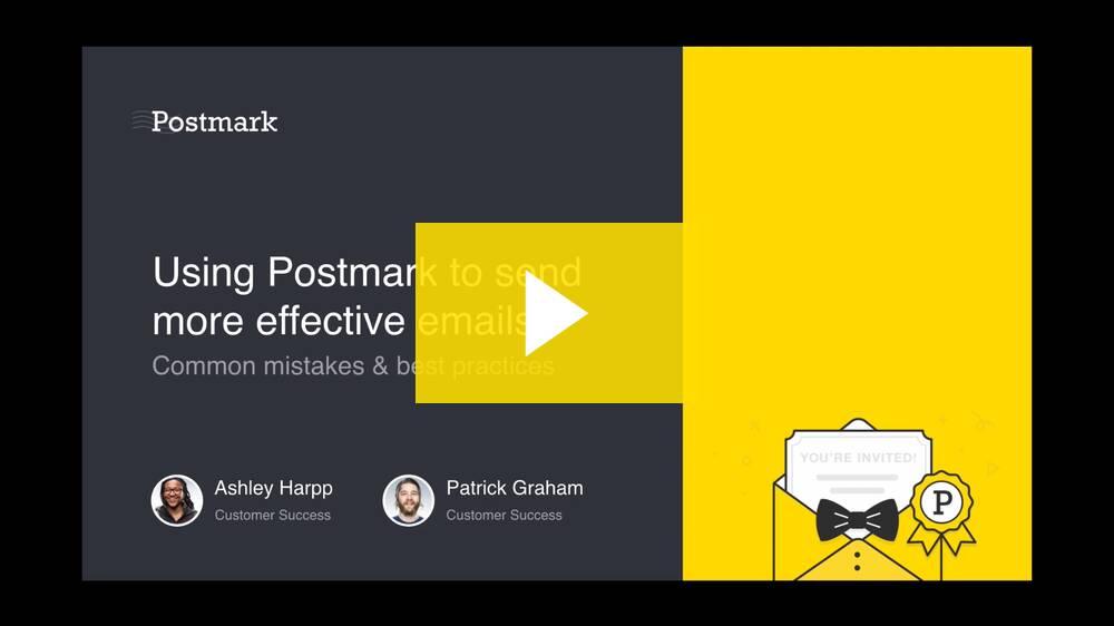 Sending Effective Transactional Emails Webinar