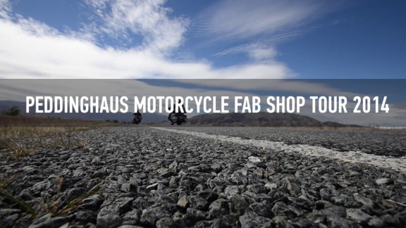 Motorcycle Fab Shop Tour 2014